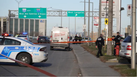 A motorist was taken to hospital with non-life-threatening injuries on Monday after an apparent road-rage shooting in northeast Montreal, police say.