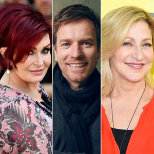 Sharon Osbourne, Ewan McGregor, Edie Falco posing for the camera: Cancer doesn't discriminate. We're often reminded of this fact when a new celebrity announces he or she has been diagnosed with the disease. Over the years, many Hollywood stars have shared their difficult health news with the public. Happily, many of them have also been able to announce that they are in remission or have beat cancer. Scroll down to read about some of the famous faces who have overcome their struggle — whether with breast cancer, skin cancer, brain cancer or anything in between — and find out how these stars kicked cancer to the curb and reclaimed their health.