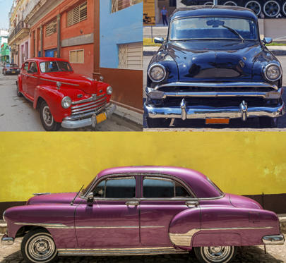 Bild 1 av 11: Classic cars have its own grace and royalty and here's a sneak preview into these iconic cars that have become an important part of Havana's tourism.