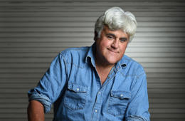 BURBANK, CA - SEPTEMBER 24: Jay Leno poses for a portrait at his car garage on Wenesday September 24, 2014 in Burbank, CA. The longtime host of The Tonight Show, continues to tour extensively performing comedy. Leno is going to be the next recipient of the Mark Twain Prize for American Humor. (Photo by Matt McClain/The Washington Post via Getty Images)