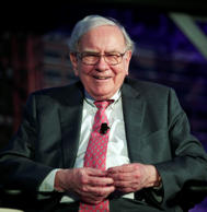 Warren Buffett DETROIT, MI -Billionaire investor Warren Buffett speaks at an eve...