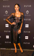 NEW YORK, NY - SEPTEMBER 05:  Model Alessandra Ambrosia attends Harper's Bazaar Celebrates ICONS by Carine Rotifeld at The Plaza Hotel on September 5, 2014 in New York City.  (Photo by )