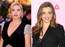 Kate Winslet and Miranda Kerr