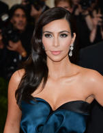 Kim Kardashian attends the 'Charles James: Beyond Fashion' Costume Institute Gala at the Metropolitan Museum of Art on May 5, 2014 in New York City