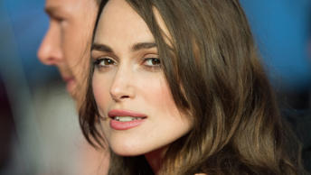 Keira Knightley attends a screening of 'The Imitation Game' on the opening night gala of the 58th BFI London Film Festival at Odeon Leicester Square on October 8, 2014 in London, England