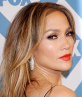 Actress/singer Jennifer Lopez arrives at the 2014 TCA winter press tour FOX all-star party at The Langham Huntington Hotel and Spa on January 13, 2014 in Pasadena, California