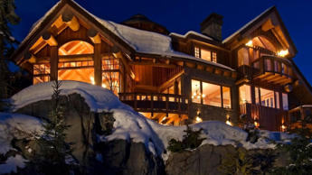 Located in Sunridge Platue, one of Whistler's most exclusive neighbourhoods, this alpine home was built in the year 2000. The home features four bed rooms, an indoor pool/gym/media room, a 200-bottle wine cellar and a tasting room.