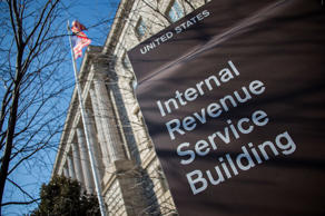 The Internal Revenue Service (IRS) building is viewed in Washington, DC, February 19, 2014.