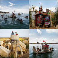 Situated in the Andes, on the border of Peru and Bolivia, Lake Titicaca is the highest navigable lake in the world and home to the floating islands of Los Uros, one of the biggest attractions in the region. Here's a look at the many manifestations of the lake.