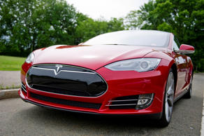 The Model S electric sports sports sedan on June 6, 2013 in Boston, Massachusett...