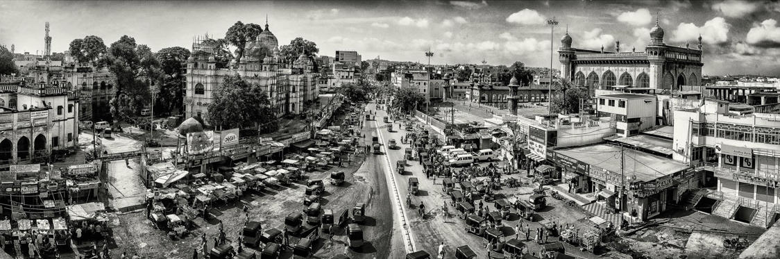 In pics: Indian cityscapes in black and white