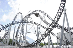 Takabisha is opened in 2011 manufactured by Gerstlauer at Fuji-Q Highland Park in Japan. It is in the list of steepest steel roller coasters with the maximum vertical angle of 121 degrees.
