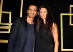 Here's proof that all is well between Arjun Rampal & Mehr Jesia