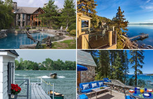 Heavy on one's pocket but not on one's eyes, here is a look at some lake-view properties, priced US$ 10 million and above, across the world.