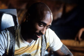 Tupac Shakur was killed during a drive-by shooting in 1996. His final films – Gridlock'd and Gang Related - were released next year. (Pictured) Tupac Shakur in a still from the movie Gridlock'd.