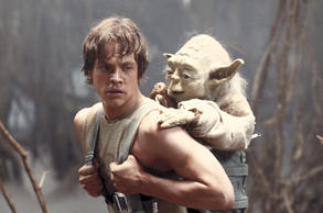 The word Yoda comes from the Sanskrit word for 'warrior'. While 'Vader' is the Dutch word for 'father'.