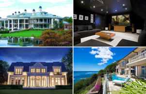 Million dollar suburban homes around the globe