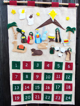 Advent calendars – used to count the days in anticipation of Christmas – is a tradition that the Danish people has adopted from the Germans.
