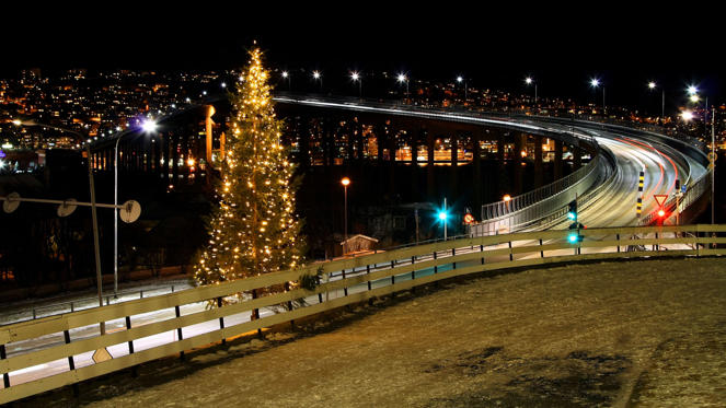 Most Norwegian cities organise Christmas fairs and concerts. According to Travel & Leisure Magazine (December 2009 issue), Tromso is one of the best places in the world to spend Christmas with a chance to view the Northern Lights.