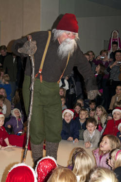 The Icelandic Christmas period begins on December 23 and ends on January 6. And unlike other countries, Icelandic children are visited by 13 Yule Lads, figures from Icelandic folklore that have become the Icelandic version of Santa Claus.