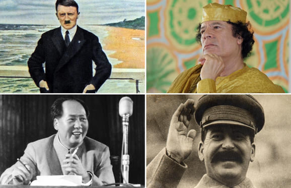 Lysbilde 1 av 14: Authors Victoria Clark and Melissa Scott revealed the eating habits and favourite food items of dictators in their recently published book Dictators' Dinners: A Bad Taste Guide to Entertaining Tyrants. Here is a look at what various infamous tyrants craved for.