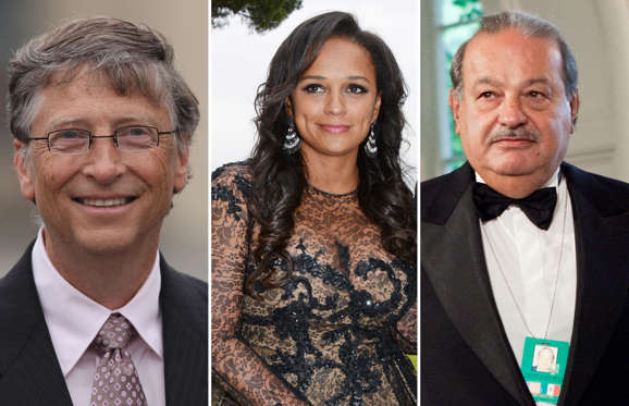 A look at the richest billionaires in every country of the world, along with their net worth for the year 2014.
