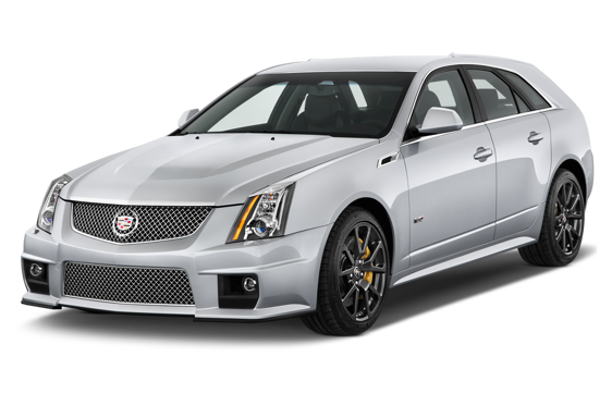 Slide 1 of 14: 2013 Cadillac CTS-V Sport Wagon