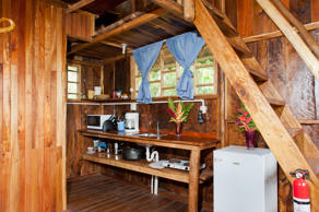 With two bedrooms and a bathroom, the treehouse can accommodate four people. Oth...