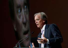 Bill Gross, former co-founder and co-chief investment officer of Pacific Investment Management Company (PIMCO), speaks at the Morningstar Investment Conference in Chicago, Illinois, June 19, 2014.