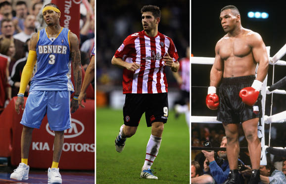 Lysbilde 1 av 21: Sports stars who've been to prison