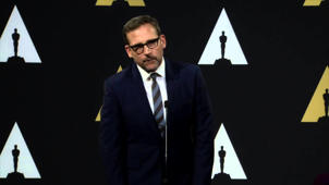 Oscars Nominee Luncheon 2015: Steve Carell Backstage Interview