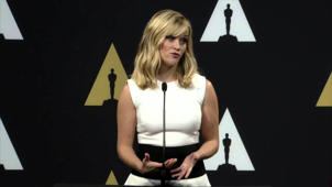 Oscars Nominee Luncheon 2015: Reese Witherspoon Backstage Interview