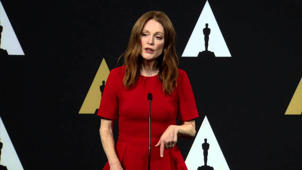 Oscars Nominee Luncheon 2015: Julianne Moore Backstage Interview