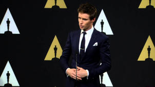 Oscars Nominee Luncheon 2015: Eddie Redmayne Backstage Interview