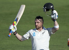 Brendon McCullum scored a majestic 302 at the Basin Reserve in 2014 against India