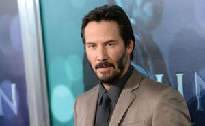"Actor Keanu Reeves attends Summit Entertainment's premiere of ""John Wick"" at the ArcLight Hollywood on October 22, 2014 in Hollywood, California."