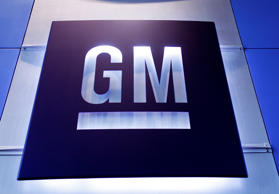 A General Motors logo is shown at the General Motors Technical Center on June 5, 2014 in Warren, Michigan.