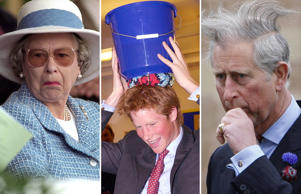 Although they are known to be an epitome of poise and dignity, but every once in a while the British royals do go offbeat. Here's a look at their moments caught off guard.