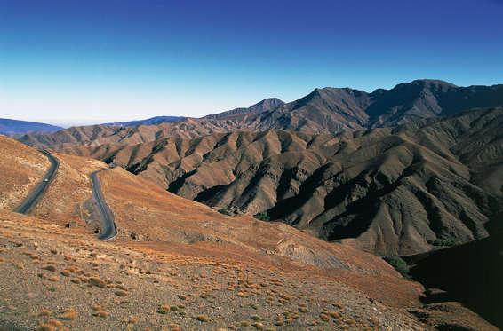 Atlas Mountain Road, Morocco