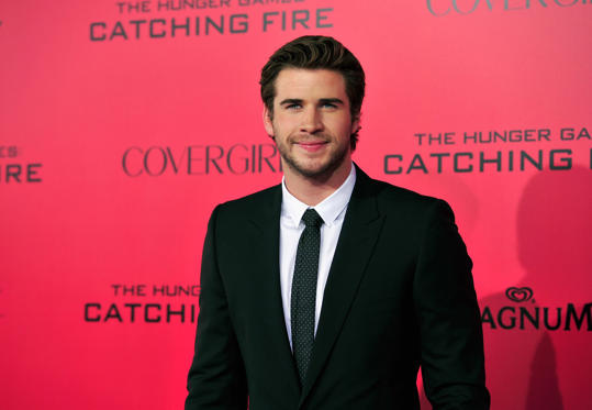 Slide 1 de 26: Liam Hemsworth