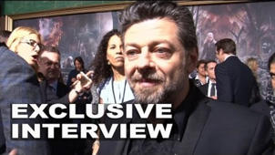 The Hobbit: The Battle of the Five Armies: Andy Serkis Exclusive Premiere Interview