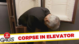 Dead Corpse in Elevator - Throwback Thursday