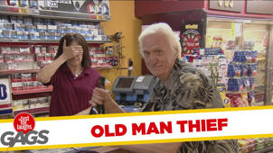 Throwback Thursday - Old Man Liquor Thief
