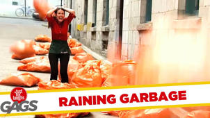 It's Raining Garbage! - Throwback Thursday