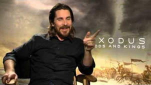 Exodus Gods and Kings: Christian Bale Exclusive Interview