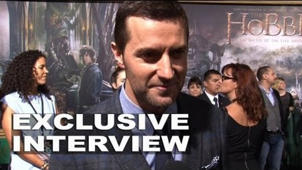 The Hobbit: The Battle of the Five Armies: Richard Armitage Exclusive Premiere Interview