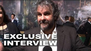 The Hobbit: The Battle of the Five Armies: Peter Jackson Exclusive Premiere Interview