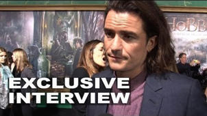 The Hobbit: The Battle of the Five Armies: Orlando Bloom Exclusive Premiere Interview