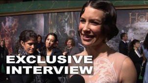 The Hobbit: The Battle of the Five Armies: Evangeline Lilly Exclusive Premiere Interview