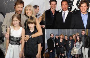 Celebrity fathers with most kids